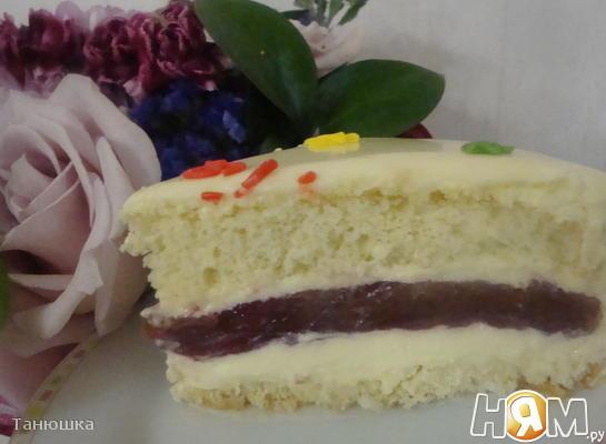 """Торт """"Жемчужный"""""""
