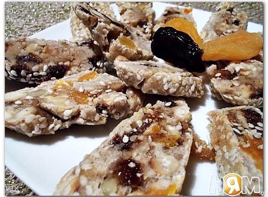 Рецепт Вариация сantuccini с рисовой мукой