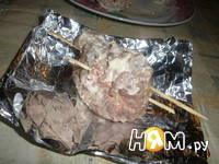 Приготовление мясных мешочков: шаг 11