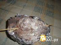 Приготовление мясных мешочков: шаг 12