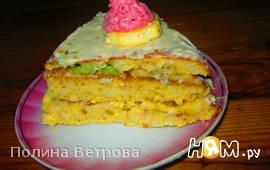 Cухарный торт