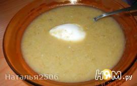 Курица с овощами-суп пюре