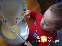 Приготовление пирога Бабушкина салфетка: шаг 4