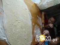 Приготовление пирога Бабушкина салфетка: шаг 8