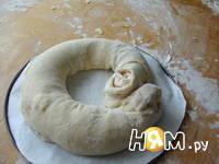 Приготовление пирога Бабушкина салфетка: шаг 11