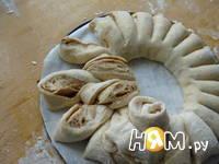 Приготовление пирога Бабушкина салфетка: шаг 13