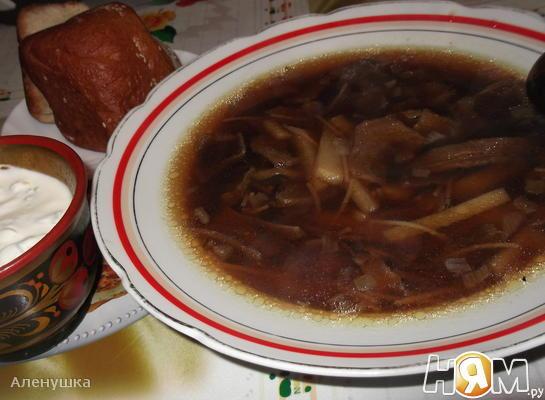 """Грибной суп """" Зимний """""""