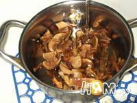 Приготовление супа из лесных сушеных грибов: шаг 1