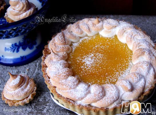 Рецепт Лимонный пирог с безе от David Lebovitz