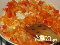 Приготовление острого сырного супа: шаг 6
