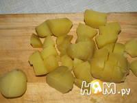 Приготовление острого сырного супа: шаг 7