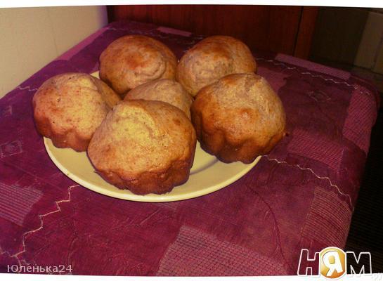 Рецепт Кексы из ржаной муки