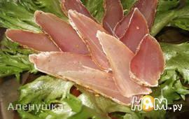 Панчетто (вяленое мясо) из куриного филе