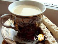 Приготовление имбирного чая с молоком: шаг 5