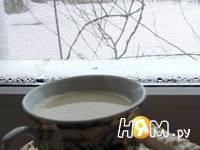 Приготовление имбирного чая с молоком: шаг 6