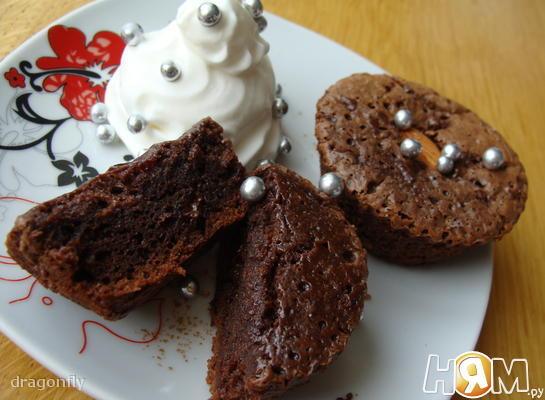 """Шоколадные маффины """" Шоко - кексы"""""""