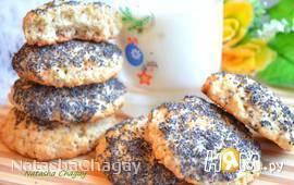 Овсяное печенье с орехами и маком