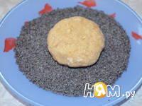 Приготовление овсяного печенья с орехами: шаг 5