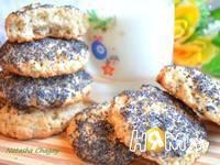 Приготовление овсяного печенья с орехами: шаг 6