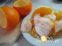 Приготовление апельсинового суфле: шаг 2