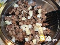 Приготовление рецепта Мешочки с индейкой и сыром бри: шаг 2
