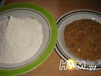 Приготовление орехового печенья: шаг 6
