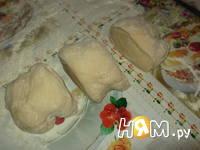 Приготовление хлеба с халвой: шаг 3