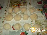 Приготовление хлеба с халвой: шаг 4