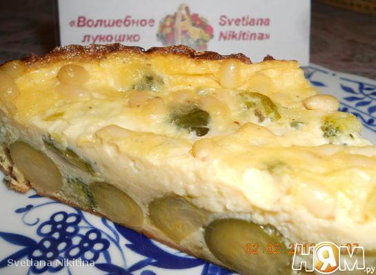 Клафути с брокколи и брюссельской капустой