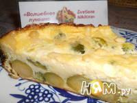 Приготовление клафути с брокколи: шаг 7