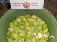 Приготовление брюссельских оладий с сыром и орешками: шаг 2
