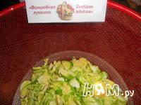 Приготовление брюссельских оладий с сыром и орешками: шаг 3