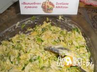 Приготовление брюссельских оладий с сыром и орешками: шаг 7