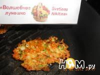 Приготовление брюссельских оладий с сыром и орешками: шаг 8