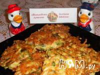Приготовление брюссельских оладий с сыром и орешками: шаг 9