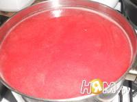 Приготовление киселя из калины: шаг 5