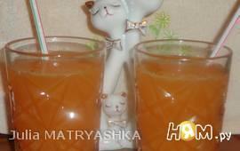 Сок апельсиново-мандариновый с клубникой