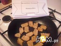 Приготовление свинины с брюссельской капустой: шаг 4