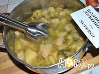 Приготовление крем-супа из брюссельской капусты: шаг 6