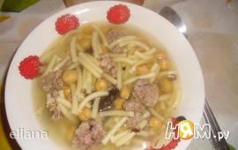 """Каталанский  суп """"Эскуделла""""(Escudella)"""