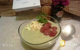 Холодный суп-пюре из бруссельской капусты
