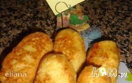 Пирожки с брюссельской капустой
