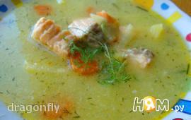 Рыбный суп со сливочным вкусом