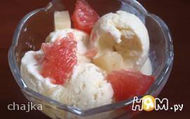 Ванильное мороженое-пломбир