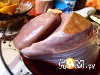 Приготовление печеночных котлет: шаг 1