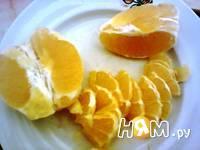Приготовление компота из апельсинов: шаг 9