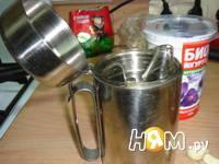 Приготовление заправки для салатов на йогурте: шаг 3