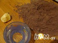 Приготовление торта из черемуховой муки : шаг 3