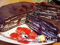 Приготовление торта из черемуховой муки : шаг 13