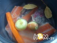 Приготовление рыбного бульона: шаг 3